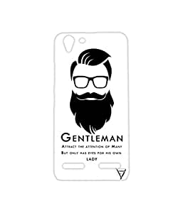 Vogueshell Gentleman Printed Symmetry PRO Series Hard Back Case for Lenovo K5 Plus