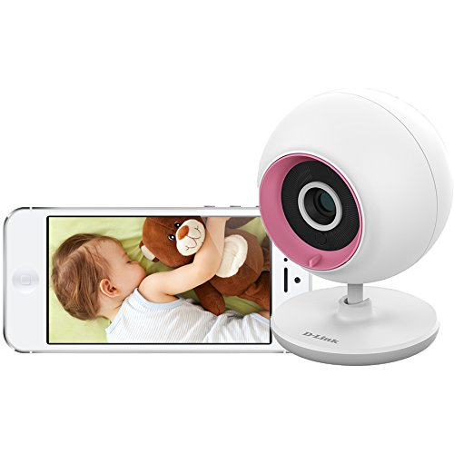 D-Link DCS-700L Wireless Day/Night Baby Monitor Camera w/Audio & Remote Viewing - 1