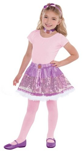 Amscan Rapine Dress-Up Set Disney Princess Party Costume, Purple, Small - 1