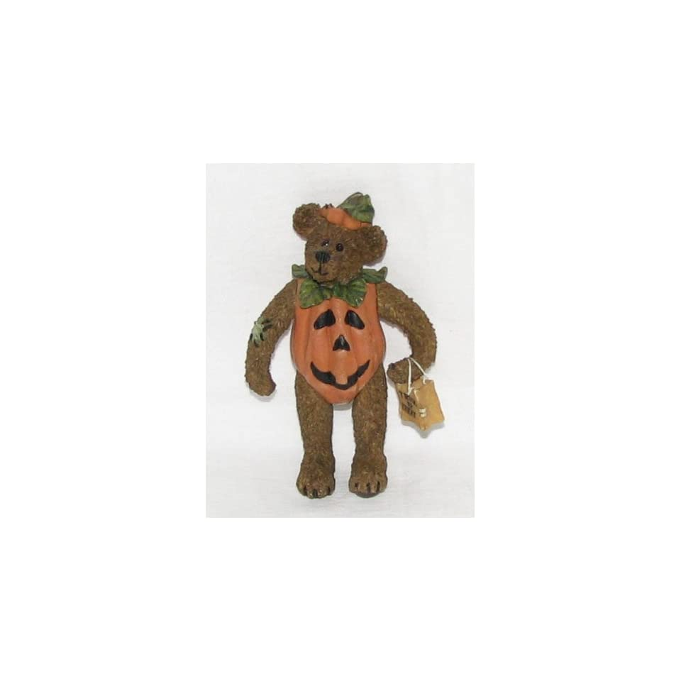 Bradley Boo Bear Countin the Treats, Boyds Shoebox Bear, 3226