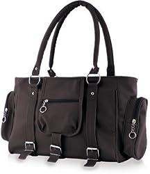 Glory Fashion Women's Stylish Handbag Black-AK-004
