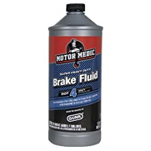 Motor Medic by Gunk M4532 DOT 4 Super Heavy Duty Brake Fluid - 32 oz.