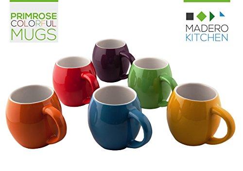 Primrose Colorful Mugs By Madero Kitchen