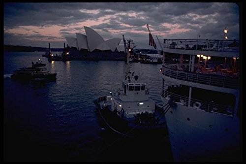 069005-sydney-from-the-water-new-south-wales-a4-photo-poster-print-10x8