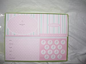 Baby Girl Photo Announcement Kit (50 ct)