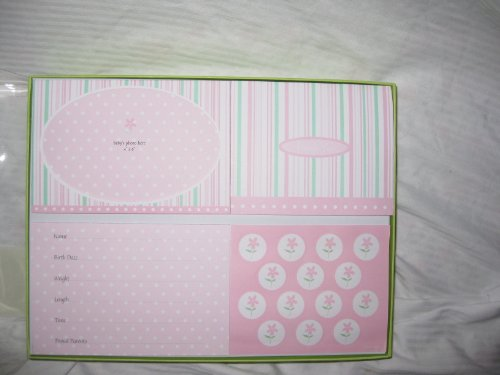 Baby Girl Photo Birth Announcements front-590549