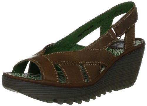 Fly London Women's Yisa Camel Slingbacks P500391003 7 UK