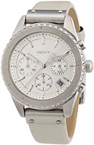 DKNY Damen-Armbanduhr Analog Quarz Leder NY8517