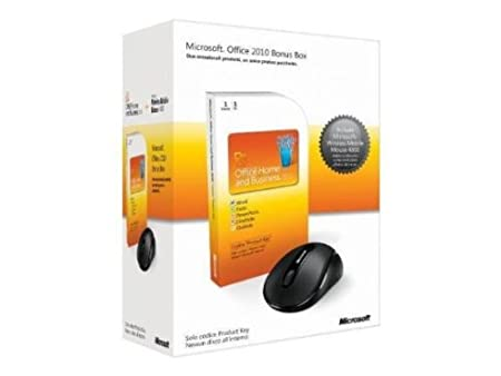 Microsoft® Office Home and  Business Bonus Box  versione  Product Keycard  (1 PC / 1 Utente)