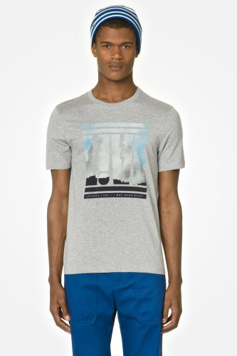 L!VE Short Sleeve Landscape Graphic T-shirt