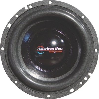 American Bass Xd65 300w 6.5 High Performance Car Audio Subwoofer Sub 6 1/2