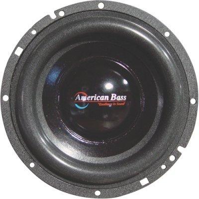 American Bass Xd65 300w 6.5 High Performance Car Audio Subwoofer Sub 6 1/2