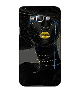 Mental Mind 3D Printed Plastic Back Cover For Samsung Galaxy E5- 3DSAME5-G156