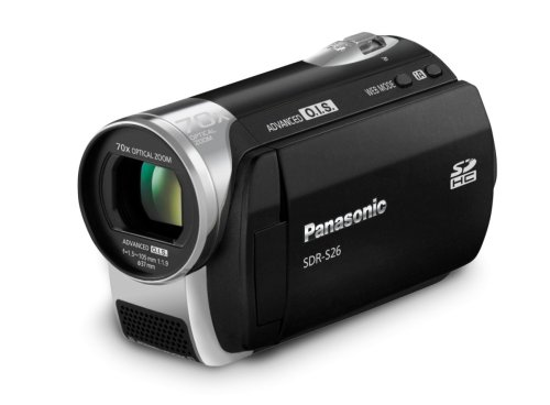 Panasonic SDR-S26 SD Camcorder (Black)