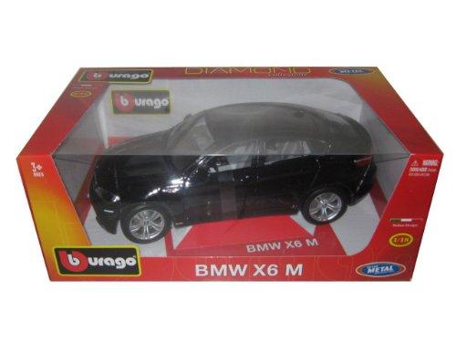 Bmw X6m Black. 2011 2012 BMW X6M Black 1/18