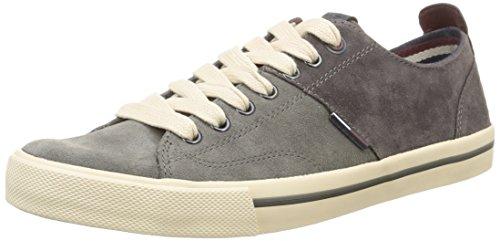 Tommy Hilfiger Varsity 1B, Sneaker, Uomo, Grigio (096), 42