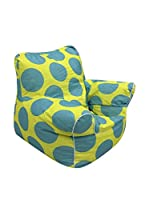 Evergreen Home Sillón Amarillo/Azul