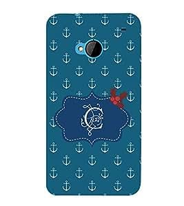 EPICCASE acnchor of C Mobile Back Case Cover For HTC One M7 (Designer Case)