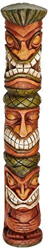 Design Toscano 31 in. Moai Haku Pani Tiki Statue