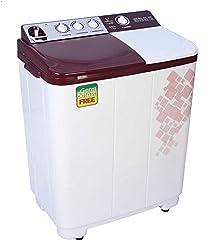 Videocon VS72H11 Semi-automatic Top-loading Washing Machine (7.2 kg, Gracia Dark Maroon)