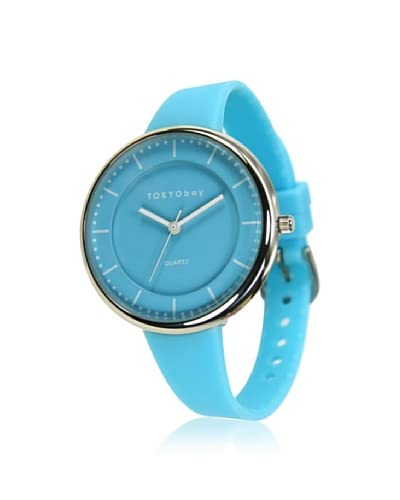 TOKYObay Women's T494-BL Bean Blue Leather Watch As You See