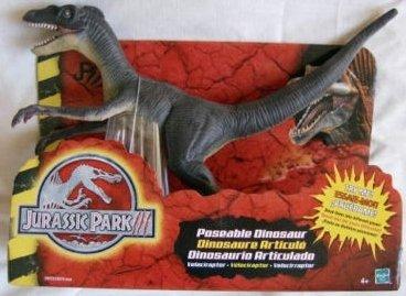Jurassic Park 3 Velociraptor Toy Jurassic Park III Poseable