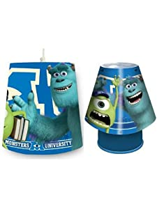 Monsters Inc University Kool Lamp and Shade Set