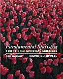 Fundamental Statistics for the Behavioral Sciences (with CD-ROM) (0534358217) by Howell, David C.