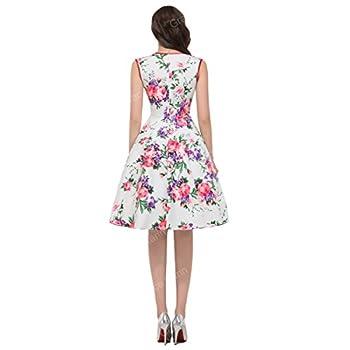 GRACE KARIN Women Floral Homecoming Prom Dress Short for Women CL7600
