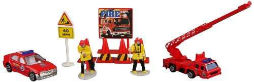 Daron Fire Department Gift Set, 10-Piece