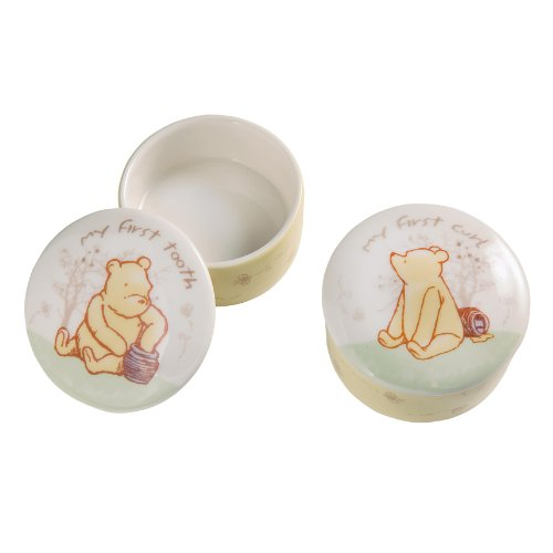 Classic Pooh Winnie The Pooh First Tooth And Curl Boxes front-1034785