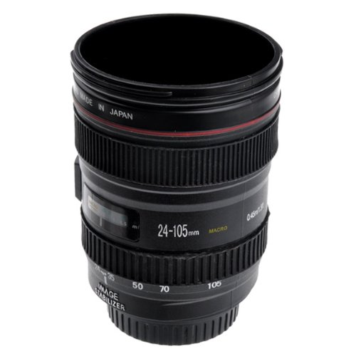 Generic Camera Lens Shape Cup With Ef 24-105Mm Usm Appearance