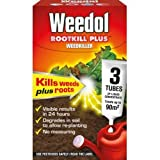 Weedol Rootkill Plus 3 Sachets Weed Killer -Very Strong & Fast Acting Weedkiller