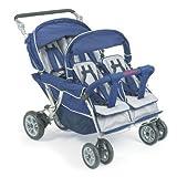 Angeles-Infant-Toddler-SureStop-Folding-Commercial-Bye-Bye-Stroller-4-Passenger