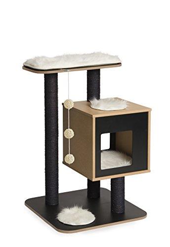 Vesper Cat Furniture, Black, V-Base