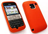 FLASH SUPERSTORE NOKIA E5 SILICON CASE/COVER/SKIN ORANGE