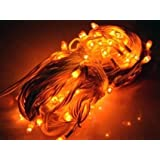 ASCENSION Yellow Lights Serial Bulb Decoration Light For Diwali Navratra Christmas 5 Mtr