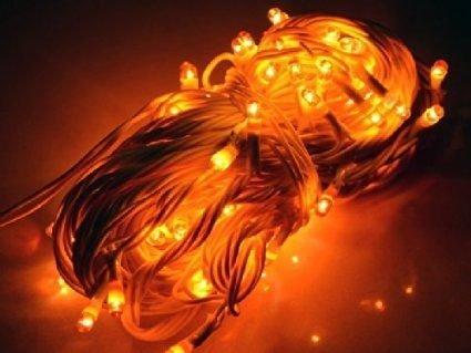 ASCENSION Yellow lights Serial bulb decoration light for diwali navratra christmas 5 mtr