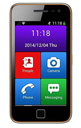 ICARUS Easyphone 4inch smartphone black Photo