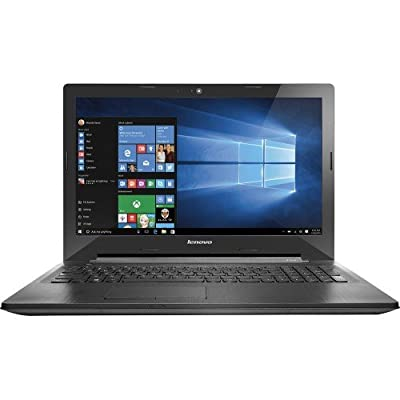 2016 Newest Lenovo Premium High Performance 15.6-inch HD Laptop (AMD E1-6010 Dual-Core 1.35 GHz, 4GB DDR3L, 500GB HDD, DVD RW, Bluetooth, Webcam, WiFi, HDMI, Windows 10 ) - Black