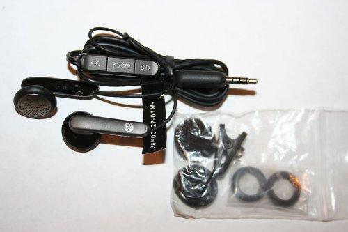 Htc Black Stereo Headset Mytouch Slide 3.5Mm 4G