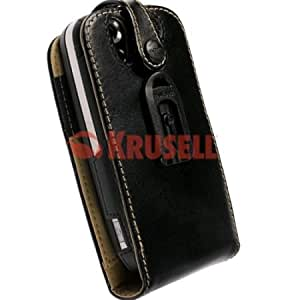 Krusell Orbit Multidapt Case with SpringClip for HTC Touch Dual P5500 - Black