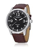 Stührling Original Reloj con movimiento cuarzo suizo Man Condor Casual Aviator Tuskegee 48.0 mm