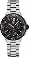 TAG Heuer Men's CAU1110.BA0858 Formula 1 Black Dial Chronograph Steel Watch by TAG Heuer
