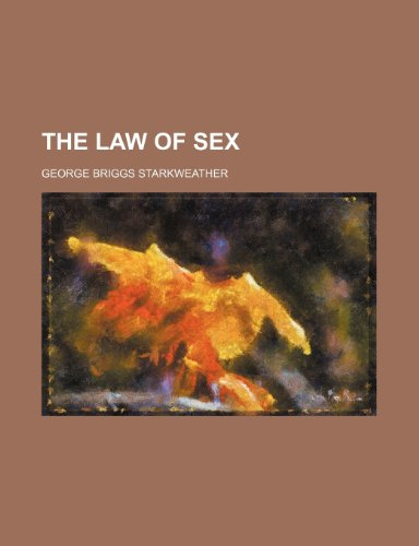 The Law of sex