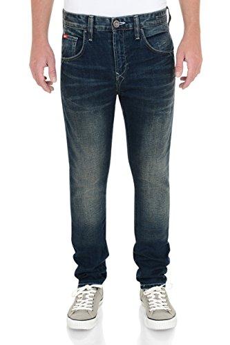 Lee Cooper -  Jeans  - Uomo Mid Wash 34W x 32L