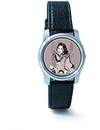 BigOwl Vidya Balan Painting Women's Analog Wrist Watch 2204826136-RS2-S-BLK