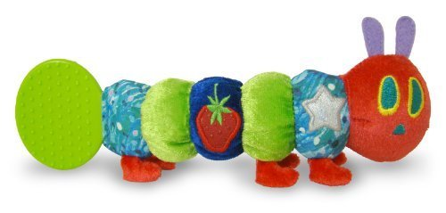 100% Polyester - The World Of Eric Carle: The Very Hungry Caterpillar Teether Rattle By Kids Preferred front-918121