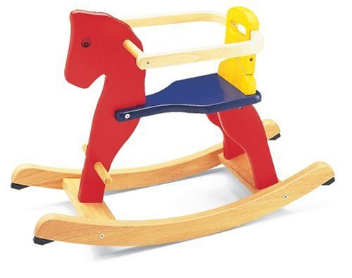 Pintoy Baby Rocking Horse