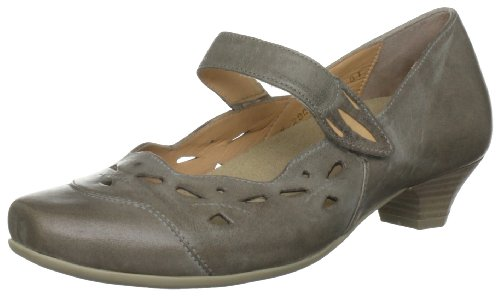 Verhulst Women's Marian Slip On K Gray Decorative 382102/830 6.5 UK, 39.5 EU, 8 US